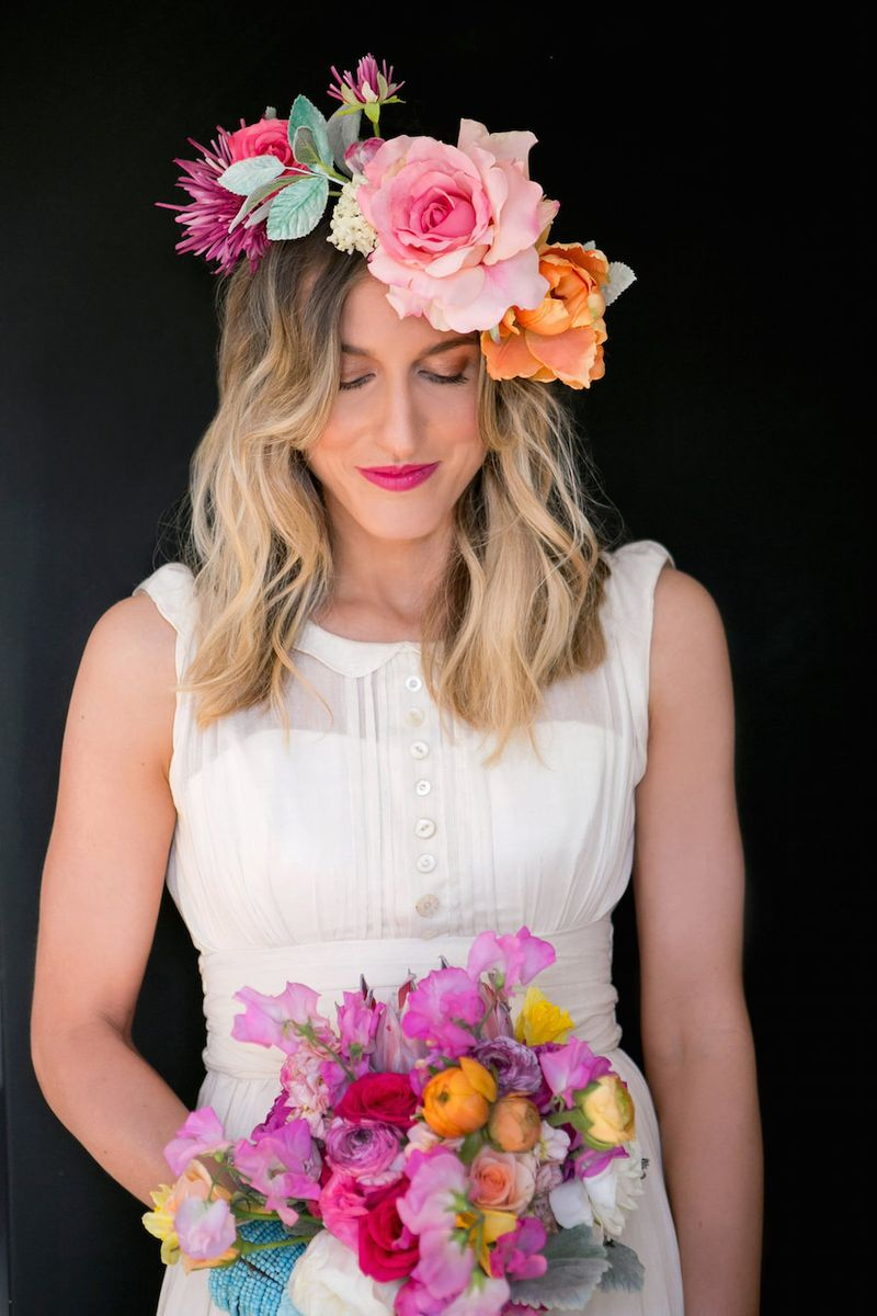 Colorful-floral-crown