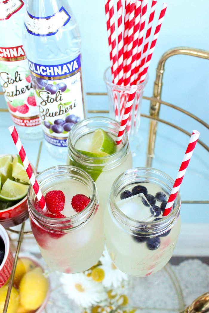 Lemonade cocktail bar