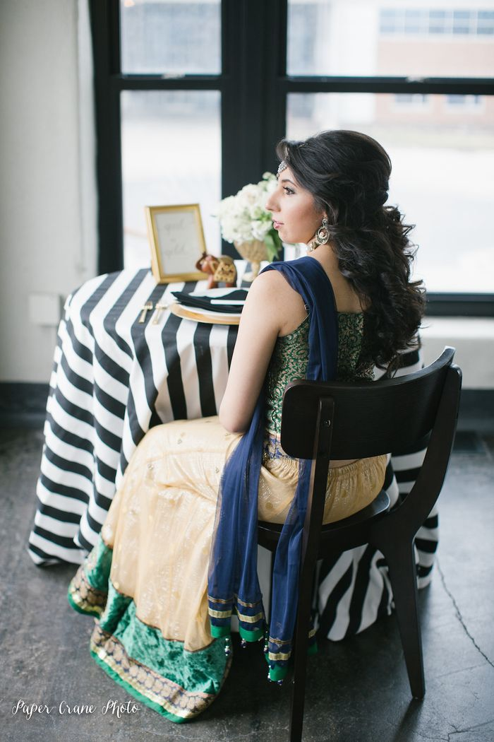 Gold-and-green-indian-wedding-inspiration