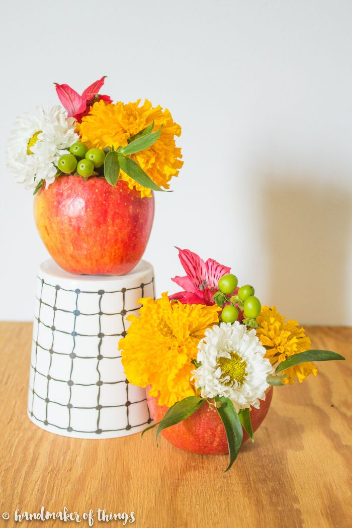 An-apple-a-day-floral-diy