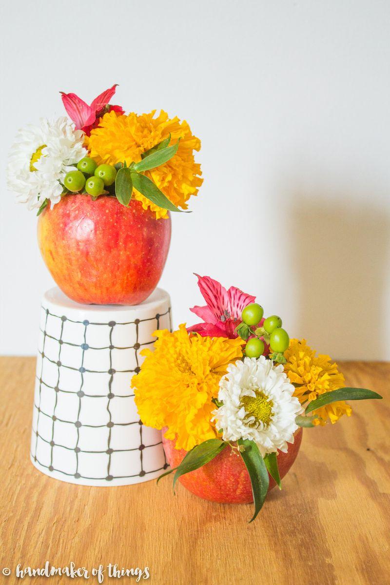 An-apple-a-day-floral-diy