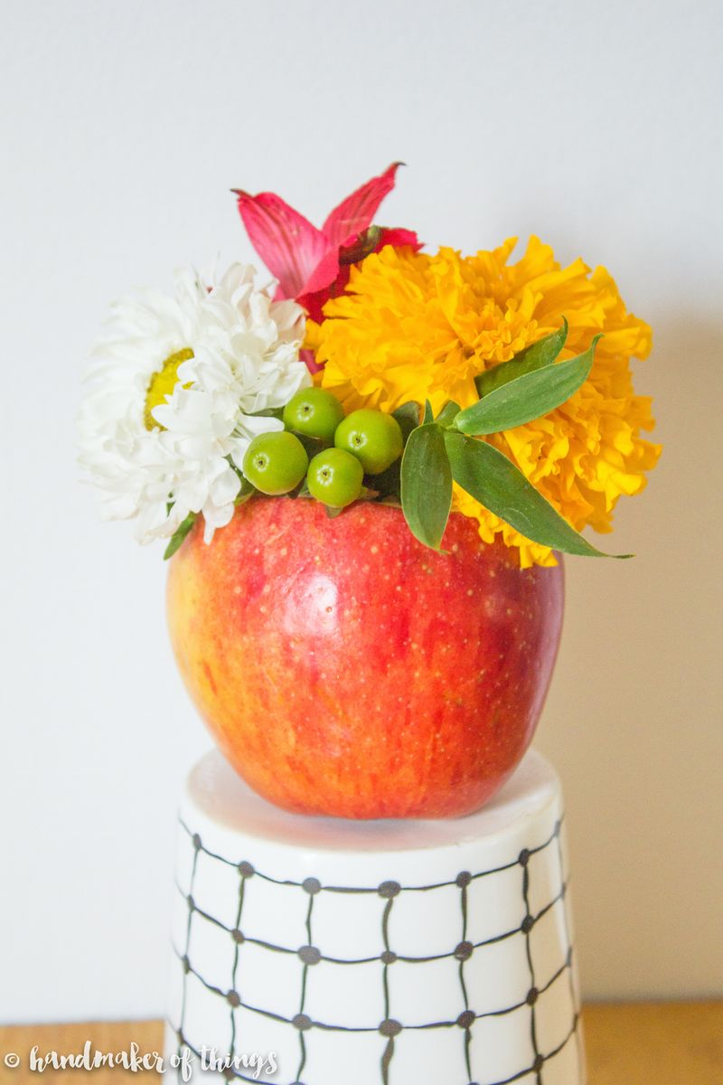 Apple Vase DIY-15