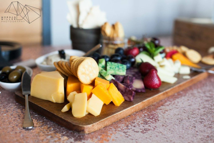 Beautiful-cheese-tray-by-Moxie-Catering