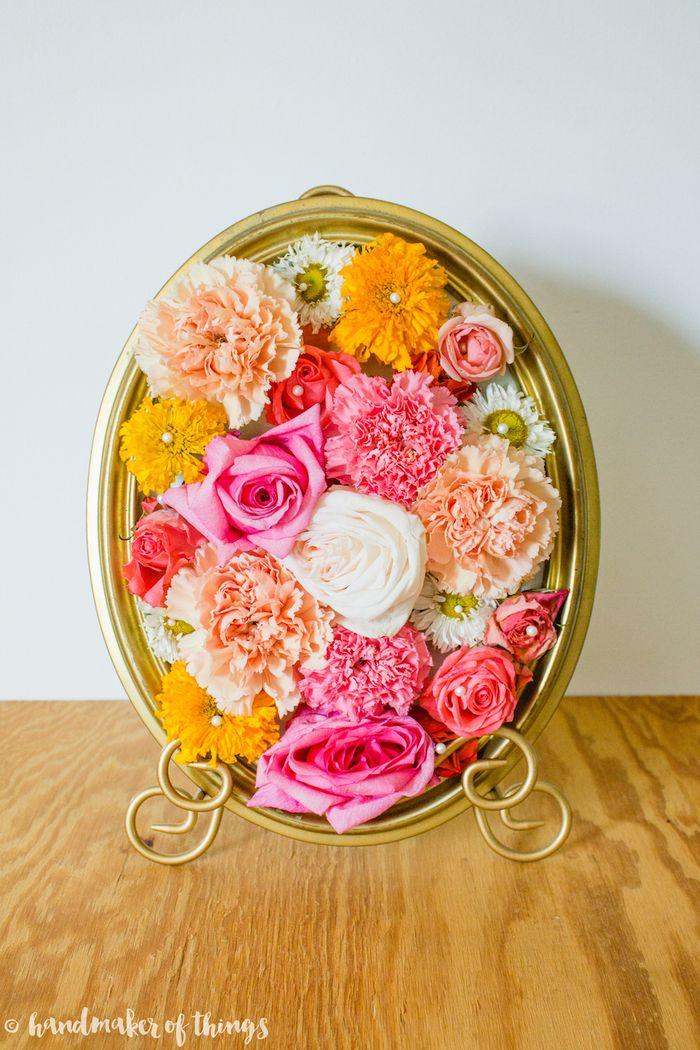 Framed Flower DIY-8