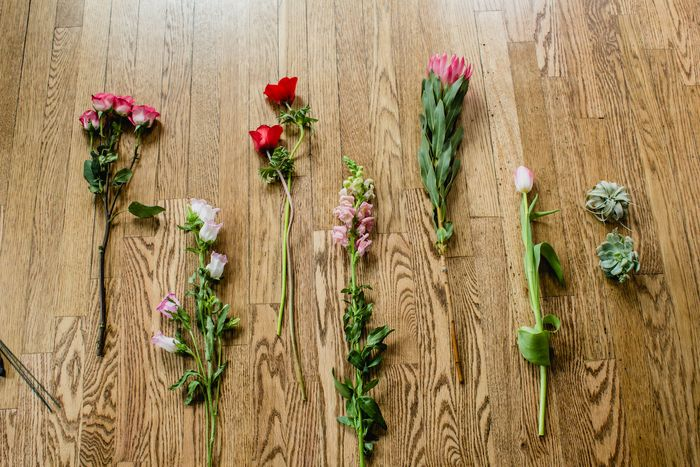 Valentines day floral recipe