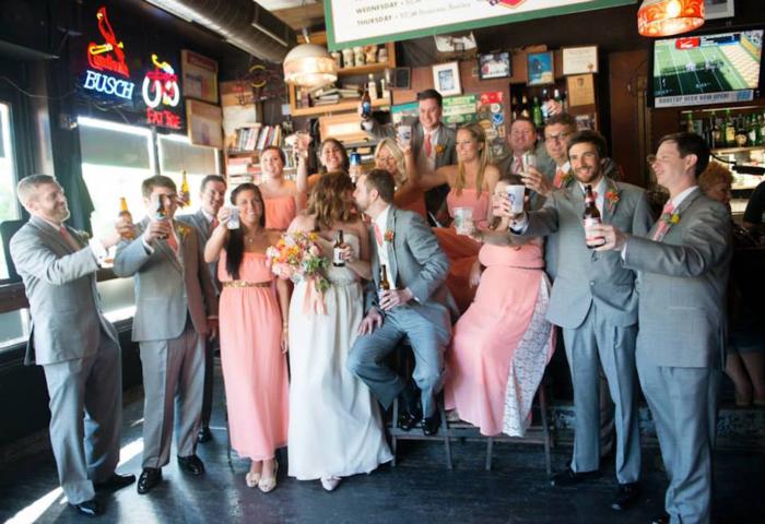 cheers-real-kansas-city-wedding