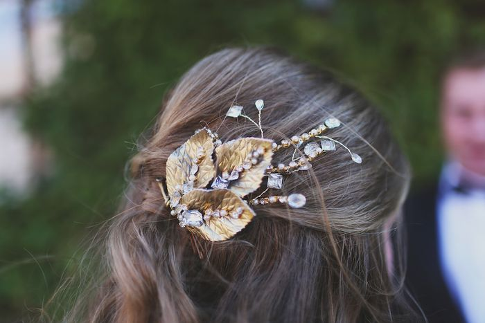 Hand-made-gold-hair-comb