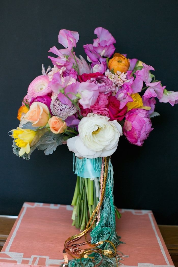 Fringe-and-sequin-bouquet-wrap