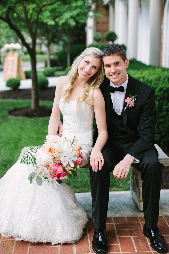 Beautiful spring wedding