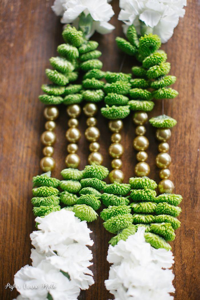 Gold-and-green-varmala